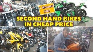 Download Cheapest Super Bikes | Cheap Second Hand Bullet, KTM, Harley, Ninja, Pulsar Video