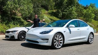 Download The $75,000 Tesla Model 3 Performance Is BETTER Than An M3 Video