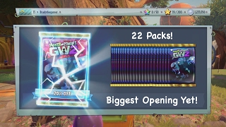 Plants vs Zombies Garden Warfare 2 - OPENING THE 200 STAR CHEST