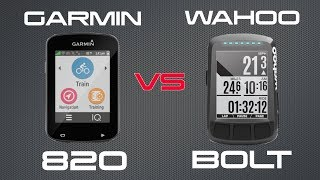 Download Garmin Edge 820 vs Wahoo Elemnt Bolt Review Video