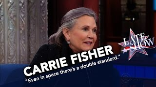 Download Carrie Fisher: Even In Space There's A Double Standard For Women Video