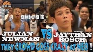Download COLD Kid from New Hampshire Jaythan Bosch Challenges CLEVER PG Julian Newman & Shuts Down NEO Video
