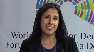 Download Interview with Patricia Galdamez, Community of Democracies Video