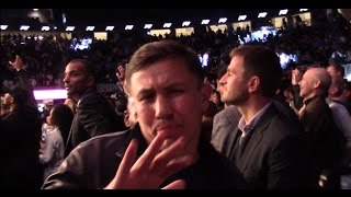 Download Gennady Golovkin & Abel Sanchez React To Andre Ward vs Sergey Kovalev. HoopJab Boxing Video