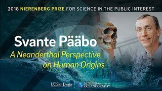 Download A Neanderthal Perspective on Human Origins with Svante Pääbo - 2018 Video