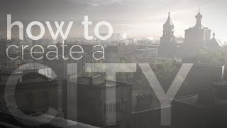 Download Blender tutorial: How to Create a City, Covered with Fog Video