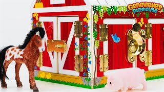 Download Let's Learn Animal names with a Toy Barn and our own Zoo! Video
