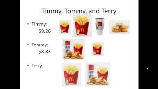 Download Three Issues with McDonalds Pricing Video