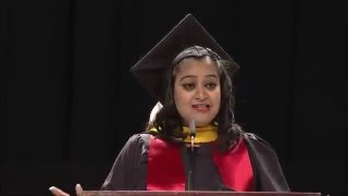 Download Commencement speech by Indian student speaker Neha @Smith School of Business 2015 Video