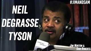 Download Neil deGrasse Tyson - Debating Aliens, Time Travel, Speed of Light - Jim Norton & Sam Roberts Video