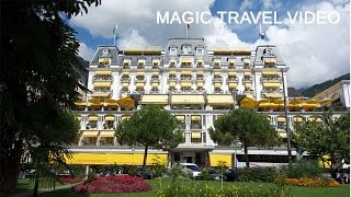 Download Montreux tour - Switzerland - Grand Hotel Suisse Majestic Video