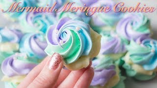 Download Mermaid Meringue Cookies with White Chocolate Ganache Filling! Video