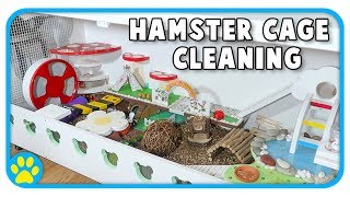 Download Cleaning Out Iodine's Hamster Cage | The Beaker Cage Video