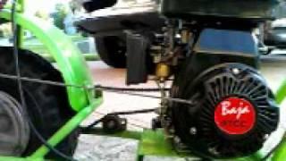 Download home made kick start for baja racer using pull start Video