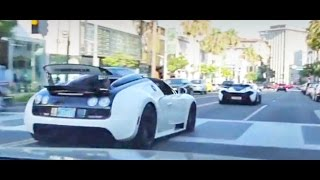 Download McLaren P1 and Bugatti Vitesse Take Over Beverly Hills! Video