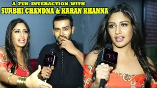 Download Ishqbaaz Stars Surbhi Chandna And Karan Khanna Share Special Camaraderie | Telly Reporter Exclusive Video