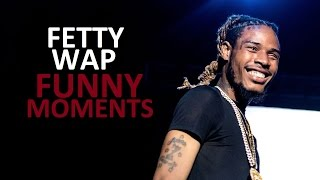 Download Fetty Wap FUNNY MOMENTS (BEST COMPILATION) Video