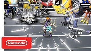 Download The World Ends with You: Final Remix - Pinning Down Battle - Info Trailer - Nintendo Switch Video