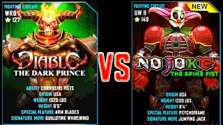 Download REAL STEEL WRB DIABLO VS NO JOKE New Robots UPDATE (Живая сталь) Video