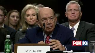 Download Wilbur Ross Senate Confirmation Hearing - Trump's Secretary of Commerce Nominee Video