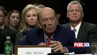 Download FNN: Wilbur Ross Senate Confirmation Hearing - Trump's Secretary of Commerce Nominee Video