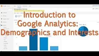 Download [Tutorial] Google Analytics - Demographics and Interests Video