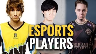Download Popular Paid Players in eSports Video