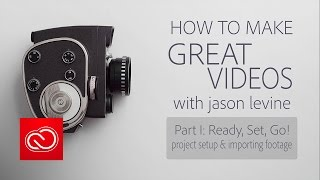 Download How to Make Great Videos Part 1 | Project Setup & Importing Footage Video