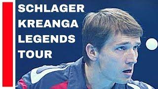 Download SCHLAGER Werner - KALINIKOS Kreanga LEGENDS TOUR 2018 TABLE TENNIS Video