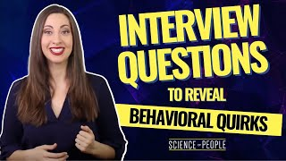 Download 10 Best Interview Questions to Reveal Behavioral Quirks Video