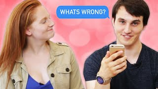 Download Couples Read Their Fights Over Text Video