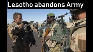 Download Lesotho abandons its army पैसो का उपयोग विकास कार्यो में करेगा Current Affairs 2018 Video