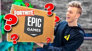 Download Unboxing A Fortnite Package from Epic Games! Video