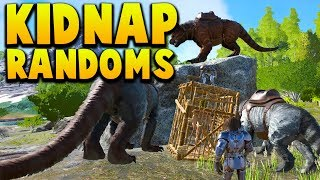 Download KIDNAPPING A RANDOM PERSON! - Ark Survival Evolved Island No Fliers PVP #15 Video