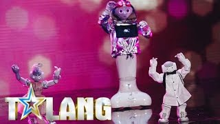 Download Robotgänget LiU dansar sig genom decennierna i Talang 2017 - Talang (TV4) Video
