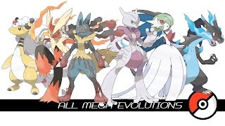Download All Mega Evolutions (メガシンカ) Video