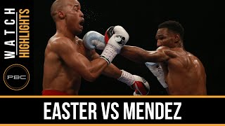 Download Easter vs Mendez HIGHLIGHTS: April 1, 2016 - PBC on Spike Video