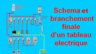 Download schéma branchement câblage tableau electrique maison Video