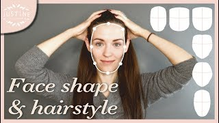 Download Good hairstyles for your face shape & how to determine your shape | Justine Leconte Video