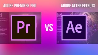 Download Adobe Premiere Pro VS After Effects CC: What's the difference & How to Work Dynamically between them Video