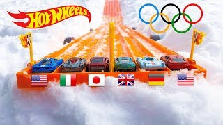 Download Hot Wheels Winter Olympic Race Video