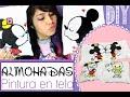 Download DIY: ALMOHADAS - Minnie & Mickey Mouse / Fácil - SAN VALENTIN ♥ Video