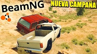 Download CARRERA A MUERTE - Actualización BEAMNG.DRIVE - CAMPAÑA ROCKY START | Gameplay Español Video
