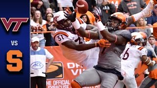Download Virginia Tech vs. Syracuse Football Highlights (2016) Video