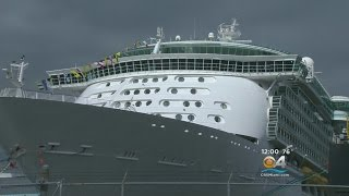 Download Royal Caribbean Cruise Passenger Jumps From Ship Video