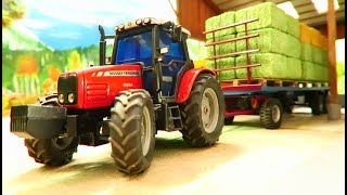 Download RC TRACTOR ACTION - A new Rc Traktor working on the Farm/RC TOY FUN Video