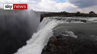 Download Exclusive: Victoria Falls is 'at risk of disappearing' Video