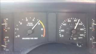 Download 1991 Mustang LX 5.0 Vert walk around and 0-135 mph Run Video