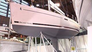 Download 2017 Beneteau Oceanis 31 Sailing Yacht - Deck and Interior Walkaround - 2016 Salon Nautique Paris Video