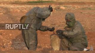 Download Syria: Mustard gas shell found in area of militant attack - Russian military Video